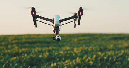 Uso de drones e Vants